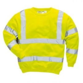 sweat-shirt hivis