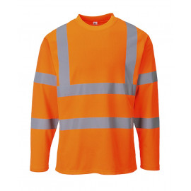 polo manches longues hivis