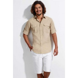 Chemise safari men