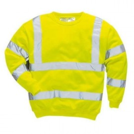 sweat-shirt hivis
