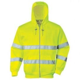 veste sweat-shirt hivis