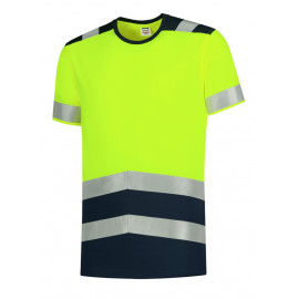 Tee-shirt hivis bicolore